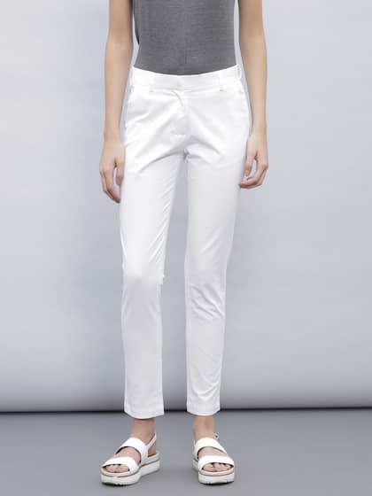 4c2c769c832 Cigarette Pants - Buy Cigarette Trousers for Men and Women Online in ...