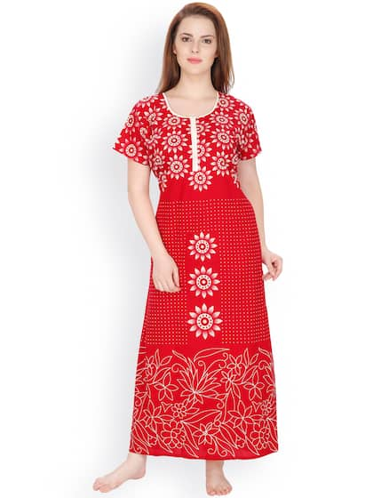 Cotton Nightdresses - Buy Cotton Nightdresses Online in India  6099c5fb5