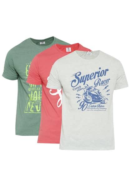 6ac9f6d0f5c Duke. Pack of 3 Round Neck T-Shirts