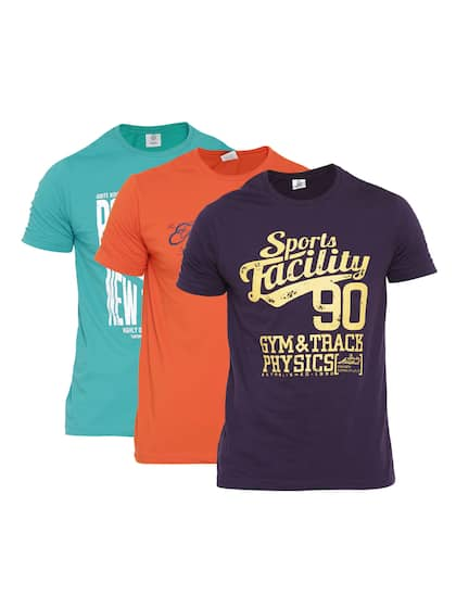 3 Pack Tshirts - Buy 3 Pack Tshirts online in India 32dc5e328a