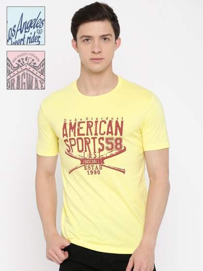 187cf7802108c6 Duke T-Shirts - Buy Duke T-Shirt Online at Best Price   Myntra