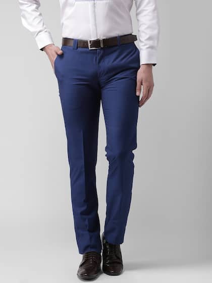 6ae809e388e8 Men Formal Trousers | Buy Men Formal Trousers Online in India
