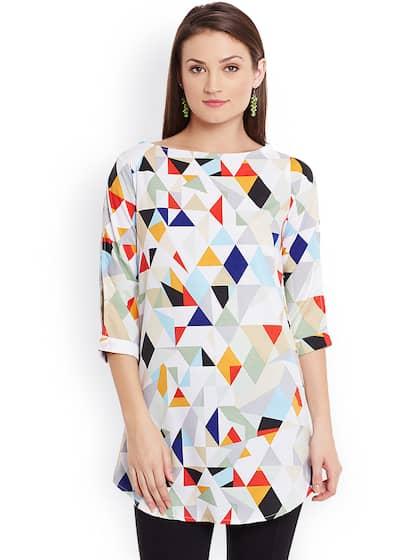 623f4beb68acba Short Kurtis - Buy Short Kurti For Women Online in India