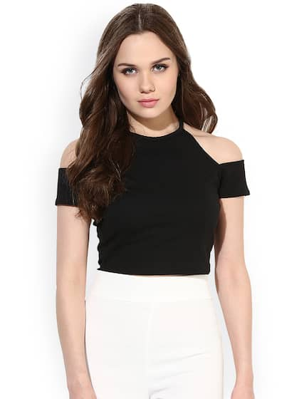 3e3722d51ae51d Crop Tops - Buy Crop Tops Online - Myntra