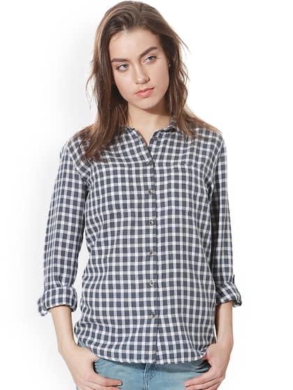 43885e22c Women Shirts - Buy Shirts for Women Online in India | Myntra