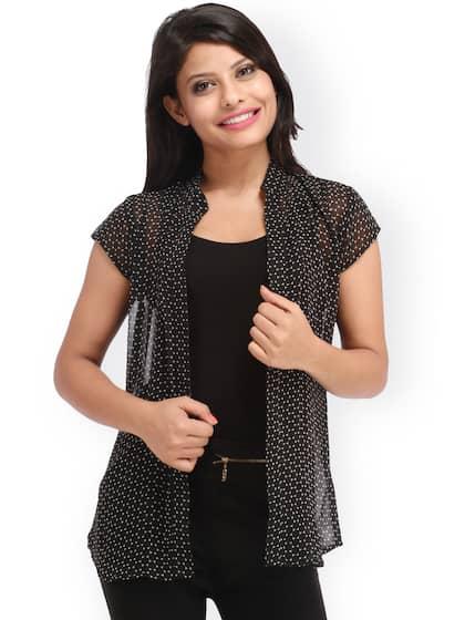 d5f377b1e1 Black Shrug - Buy Black Shrug Online in India