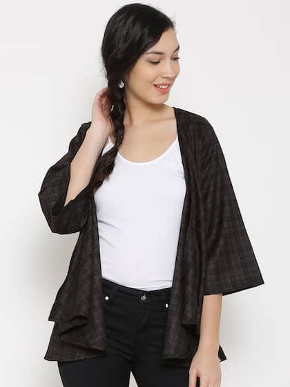 753ef9030fc496 Black Shrug - Buy Black Shrug Online in India