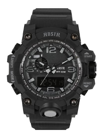 89d60c928 RDSTR Men Charcoal Grey Chronograph Analogue   Digital Watch  MFB-PN-WTH1606-A