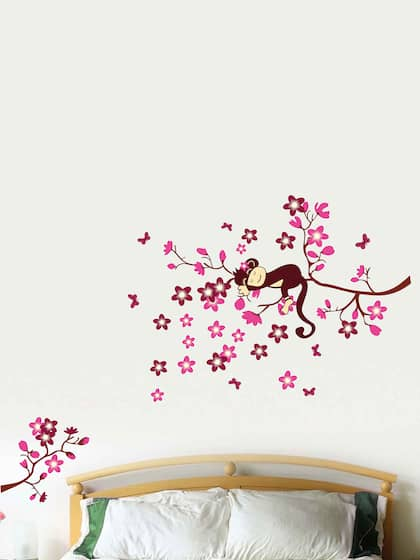 wall stickers for living room - buy living room sticker online | myntra