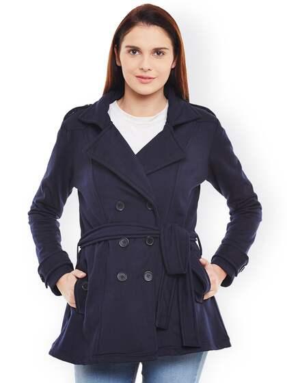 0c11087383 Coats for Women - Buy Women Coats Online in India