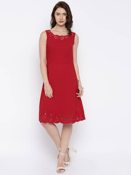 bf9c1b7cfc Red Dress - Buy Trendy Red Colour Dresses Online in India