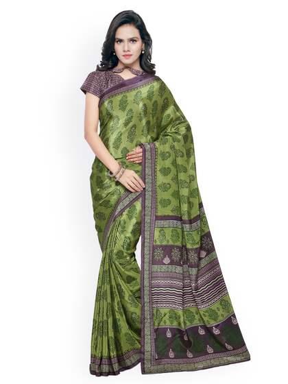 633db2607e1b5e Triveni Sarees - Buy Triveni Saree Online in India | Myntra