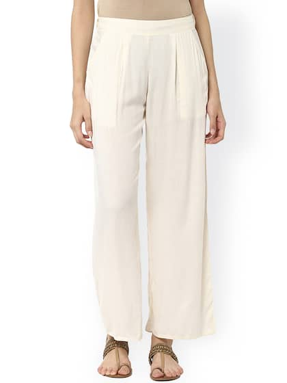 2e434d3d3b Palazzo Pant - Buy Latest Palazzo Pants Online in India   Myntra