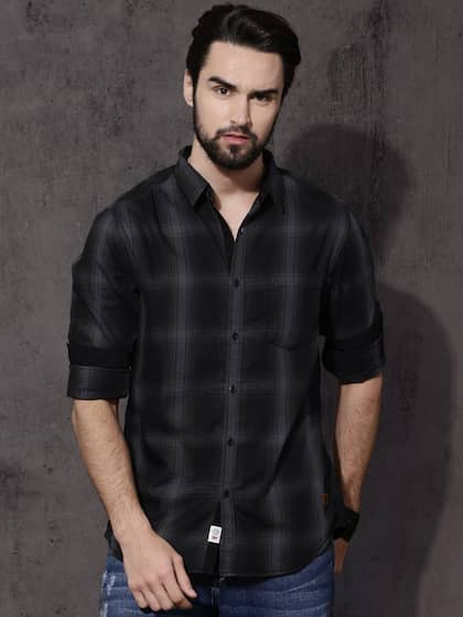 cf32f8f3030 Casual Shirts for Men - Buy Men Casual Shirt Online in India