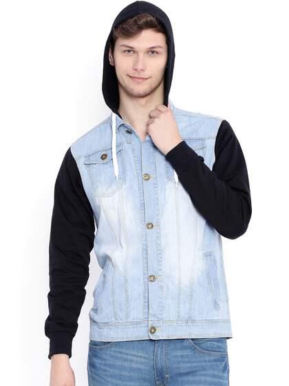 c410ef0d4ceb9 Men Denim Jacket - Buy Men Denim Jacket online in India