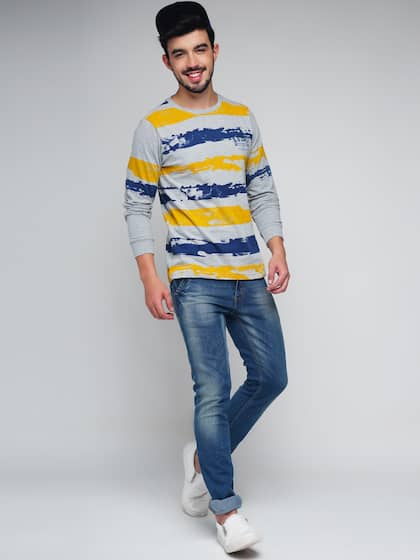 4fe4038e26 Men T-Shirts - Buy T-shirts for Men Online in India