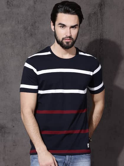 1f4168c64 Men T-shirts - Buy T-shirt for Men Online in India | Myntra