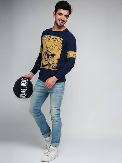 Men T Shirts Buy T Shirt For Men Online In India Myntra