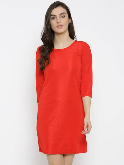 83c3f5cd0c Red Dress - Buy Trendy Red Colour Dresses Online in India | Myntra