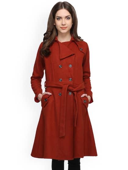 1b9d290099306 Long Jackets for Women - Buy Women Long Coats Online - Myntra