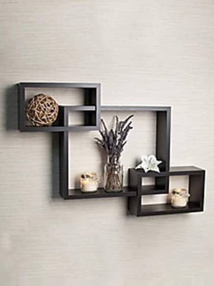 Sensational Wall Shelves Buy Wall Shelf Online In India Myntra Home Interior And Landscaping Ologienasavecom
