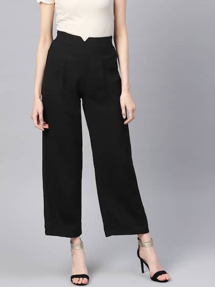 ea03eefe Women's Trousers - Shop Online for Ladies Pants & Trousers in India ...