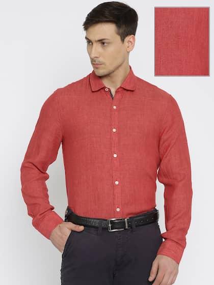 e0f5f9430 Linen Shirt - Buy Linen Shirts for Men Online in India