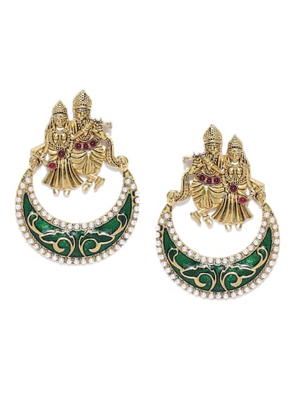 1aaa933aa2963 ChandBali Earrings - Buy Chandbali Earring Online | Myntra