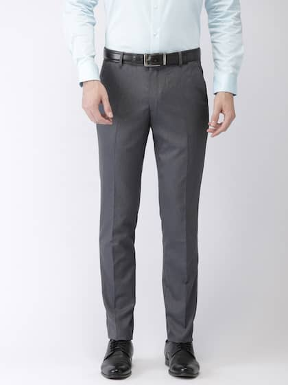 04b18c6a94b6 Men Formal Trousers | Buy Men Formal Trousers Online in India