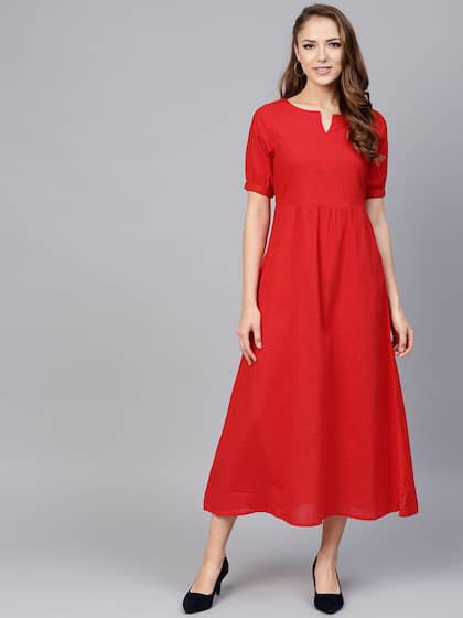 08bd1e68d993 Midi Dresses - Buy Midi Dress for Women & Girl Online | Myntra