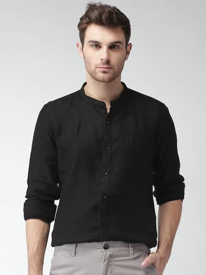 029a3a3f Linen Shirt - Buy Linen Shirts for Men Online in India | Myntra