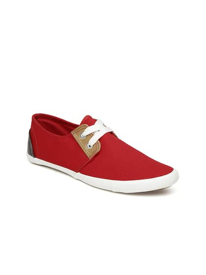 Boltio Women Red Solid Sneakers