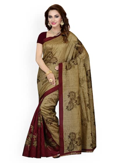 1c7b3e74dd Floral Sarees - Buy Floral Print Saree Online at Best Price