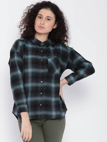 9c238ce45b6f Blue Flannel Shirt - Buy Blue Flannel Shirt online in India