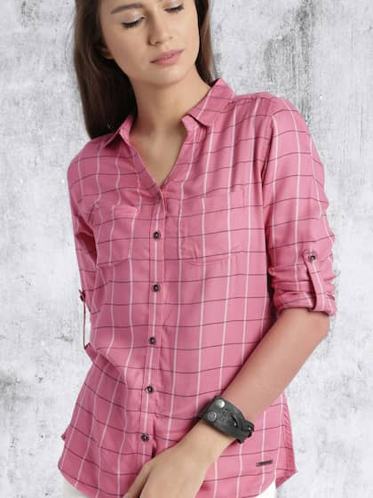 Women Shirts - Buy Shirts for Women Online in India  c51457530