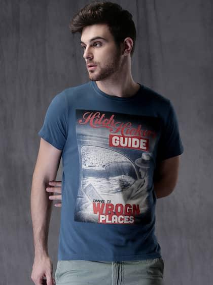 e98aa5cd243 Men T-shirts - Buy T-shirt for Men Online in India