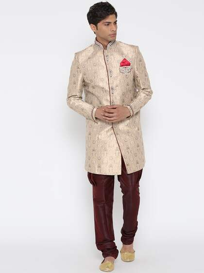 927f0902defc2 Sherwani - Buy Sherwani for Men   Kids Online in India
