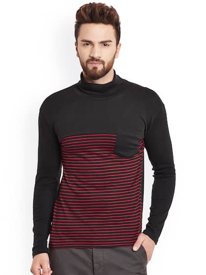 f9ea5e8469f Turtle Neck Tshirts - Buy Turtle Neck Tshirts online in India