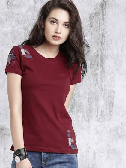 6af2e3effe57 Ladies Tops - Buy Tops & T-shirts for Women Online | Myntra