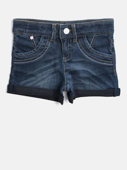 50e8a5cc39 Shorts For Girls- Buy Girls Shorts online in India - Myntra