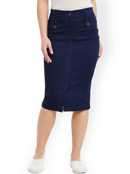 83f4fd93a6f Pencil Skirt - Buy Pencil Skirt online in India