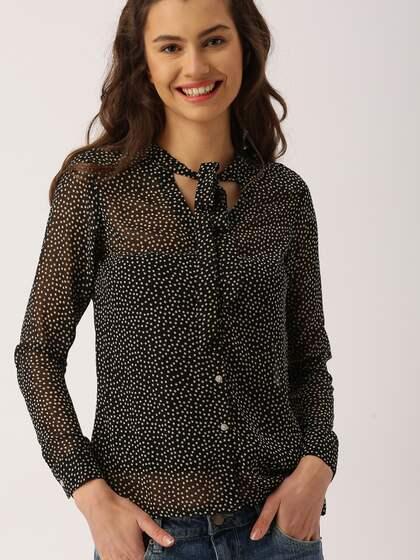 7ce9ac3eece670 Women Semi Formal Tops - Buy Women Semi Formal Tops online in India