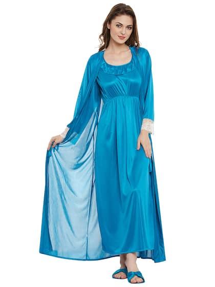 ac38f69ea5 Clovia Satin Loungewear And Nightwear - Buy Clovia Satin Loungewear ...