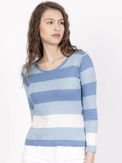 1dada033cb8 T-Shirts for Women - Buy Stylish Women's T-Shirts Online   Myntra
