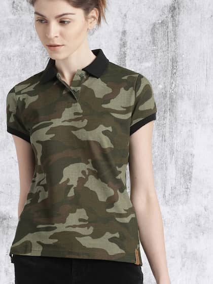 52f931551345 Military Tshirts - Buy Military Tshirt Online in India | Myntra