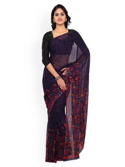 707fd9a532d6cc Chiffon Saree - Buy Elegant Chiffon Sarees online - Myntra