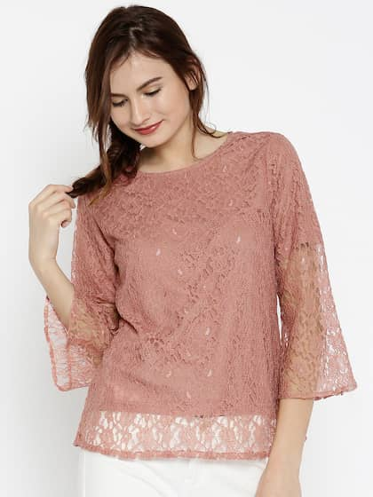 Lace Tops - Buy Lace Tops for Women   Girls Online in India  c25086ebd