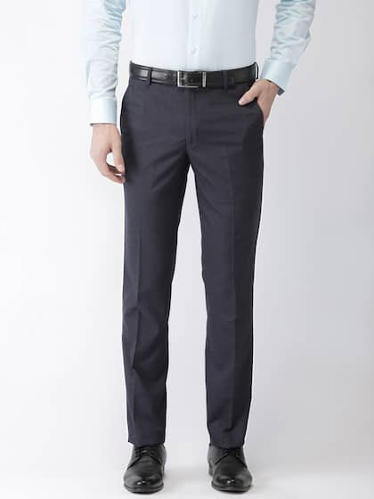 2104ab869 Men Formal Trousers | Buy Men Formal Trousers Online in India