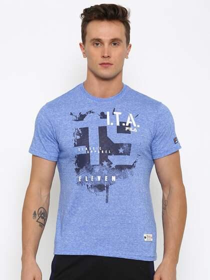 54e5bbfa1 Fila T-shirt - Buy Fila T-shirts for Men & Women Online in India