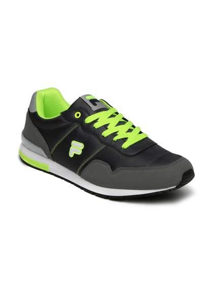 25b15038a Fila Shoes - Buy Original Fila Shoes Online in India   Myntra